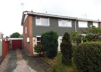 Thumbnail 3 bed semi-detached house for sale in Bretton Drive, Broughton, Chester, Flintshire