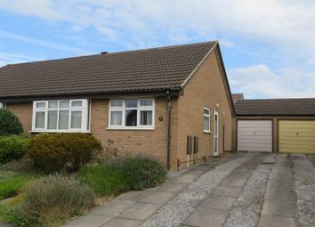 Thumbnail 2 bed semi-detached bungalow for sale in Top Pingle Close, Brimington, Chesterfield