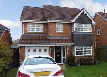 Thumbnail 4 bed detached house for sale in 8, Dereham Way, Sandymoor, Runcorn, Halton
