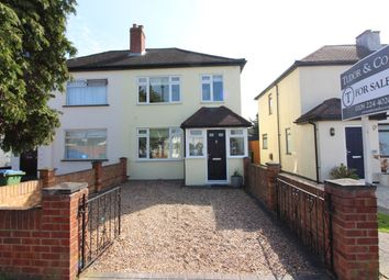 Thumbnail 3 bed semi-detached house for sale in First Avenue, West Molesey