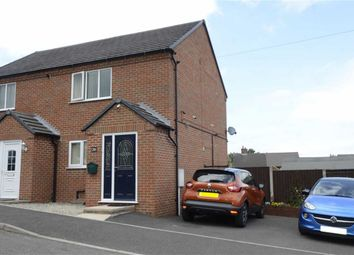 Thumbnail 2 bed semi-detached house for sale in Tennyson Street, Stretton, Alfreton