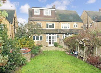 Thumbnail 4 bed semi-detached house for sale in Hollywood Way, Woodford Green, Essex