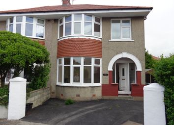 Thumbnail 3 bed semi-detached house to rent in Thirlmere Drive, Morecambe