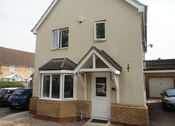 Thumbnail 3 bed detached house to rent in Standish Court, Sugar Way, Peterborough