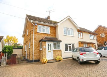 Thumbnail 3 bed semi-detached house for sale in Sandown Road, Thundersley