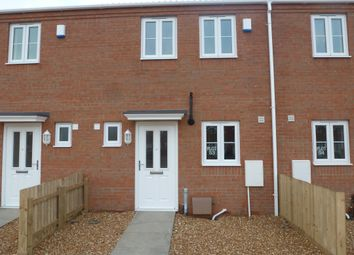 Thumbnail 2 bed terraced house to rent in Mikanda Close, Wisbech
