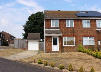 Thumbnail 3 bed semi-detached house for sale in Swannee Close, Peacehaven
