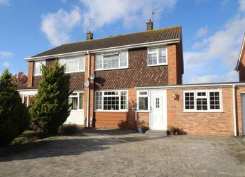 Thumbnail Semi-detached house for sale in Wrenswood, Covingham, Swindon