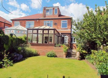 Thumbnail 4 bed semi-detached house for sale in Amble Avenue, Whitley Bay