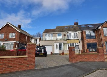 Thumbnail 4 bed semi-detached house for sale in Markham Avenue, Whitburn, Sunderland