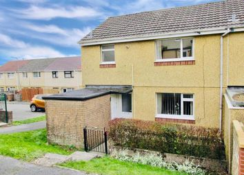 Thumbnail 3 bedroom end terrace house to rent in Brynglas, Pontlottyn, Bargoed
