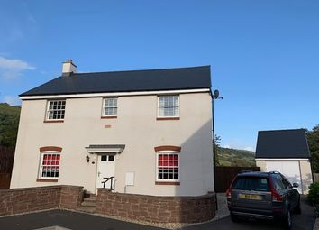 Thumbnail 4 bed detached house for sale in Crawshay Bailey Close, Gilwern, Abergavenny, Gwent