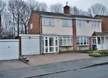Thumbnail 3 bedroom semi-detached house for sale in Rose Drive, Clayhanger, Walsall