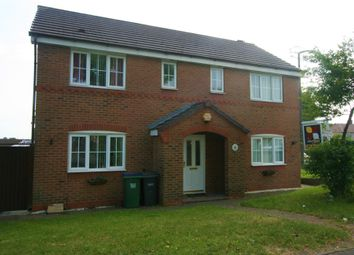 Thumbnail 4 bed detached house to rent in Orchard Road, Walsall