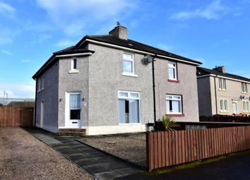 Thumbnail 2 bed semi-detached house for sale in Garfield Avenue, Mossend, Bellshill