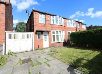 Thumbnail 3 bed semi-detached house for sale in Ashdene Road, Withington