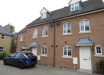 Thumbnail 3 bed terraced house for sale in Fleming Court, Sugar Way, Peterborough