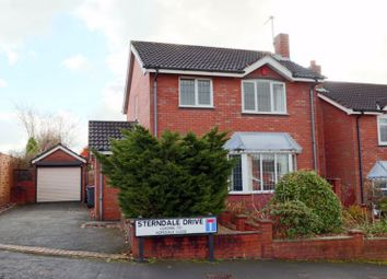 Thumbnail 3 bed detached house for sale in Sterndale Drive, Clayton, Newcastle-Under-Lyme