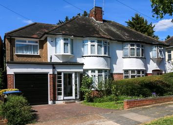 Thumbnail 4 bed semi-detached house for sale in Wykeham Hill, Wembley Park