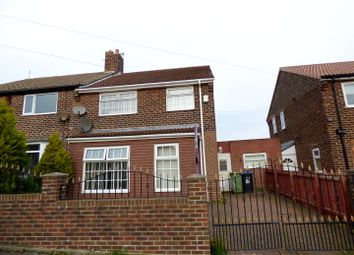 Thumbnail 3 bed semi-detached house for sale in Stephens Road, Murton, Seaham