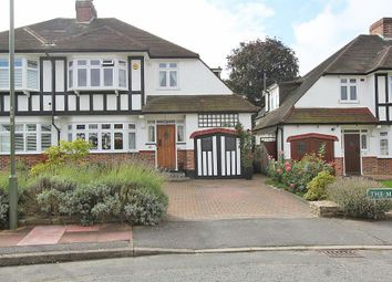 Thumbnail 4 bed semi-detached house for sale in The Mead, Beckenham, Kent