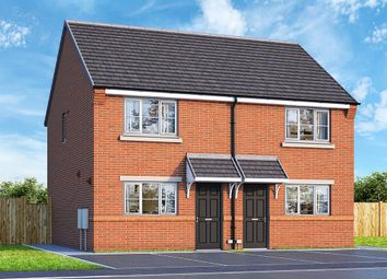 "Thumbnail 2 bed property for sale in ""The Buttercup"" at Gynsill Lane, Anstey, Leicester"