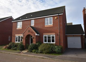Thumbnail 4 bed detached house for sale in Liberty Way, The Fairways, Exeter