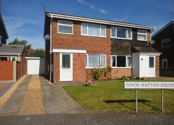 Thumbnail 3 bedroom semi-detached house for sale in Finch Hatton Drive, Gretton, Corby