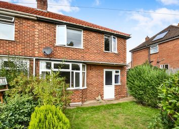 Thumbnail 3 bed semi-detached house for sale in Melton Road, Wymondham