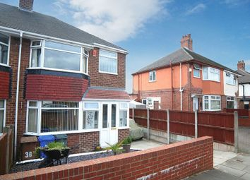 Thumbnail 3 bed semi-detached house for sale in Poplar Drive, Blurton, Stoke-On-Trent