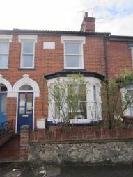 Thumbnail 3 bed terraced house to rent in Oxford Road, Ipswich