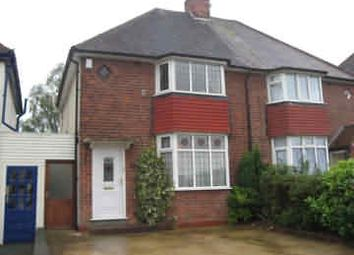 Thumbnail 2 bed semi-detached house to rent in Reddicap Heath Road, Sutton Coldfield, West Midlands