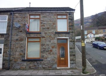 Thumbnail 3 bed end terrace house to rent in Tynybedw Street, Treorchy