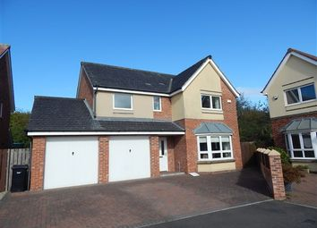 Thumbnail 4 bed detached house for sale in Coneygarth Place, Ashington