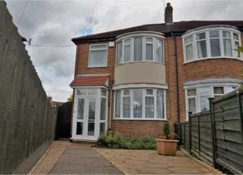 Thumbnail 3 bed semi-detached house to rent in Cheshire Road, Leicester