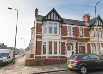 Thumbnail 5 bed end terrace house to rent in Blenheim Road, Roath, Cardiff