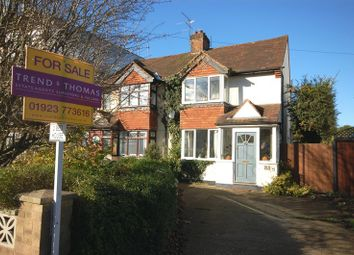 Thumbnail 2 bed semi-detached house for sale in Denham Way, Maple Cross
