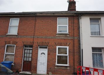 Thumbnail 2 bedroom terraced house for sale in Cemetery Road, Ipswich
