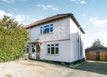 Thumbnail 3 bed semi-detached house for sale in Yeldham Road, Sible Hedingham, Halstead