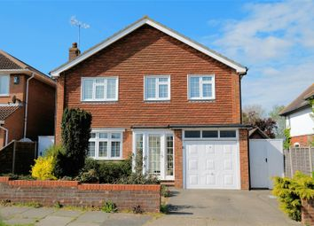 Thumbnail 4 bed detached house for sale in Columbia Avenue, Seasalter, Whitstable