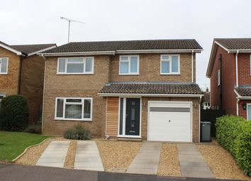 Thumbnail 4 bed detached house for sale in Robin Close, Market Deeping