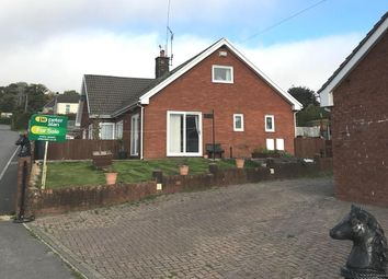 Thumbnail 4 bed detached bungalow for sale in Castlewood, Talywain, Pontypool