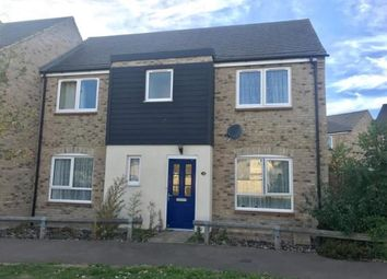 Thumbnail 4 bed end terrace house for sale in Ruston Close, Huntingdon, Cambridgeshire