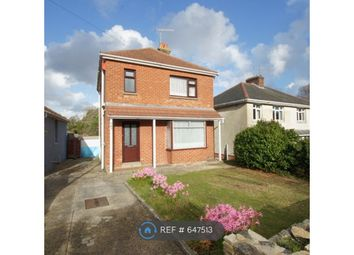 Thumbnail 3 bed detached house to rent in Dorchester Road, Oakdale, Poole
