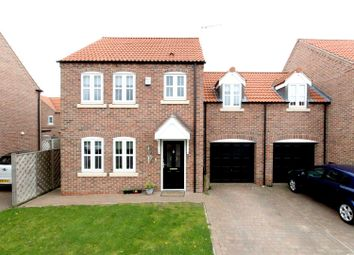 Thumbnail 3 bed link-detached house for sale in Priory Close, Nafferton, Driffield