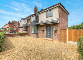 Thumbnail 4 bed semi-detached house for sale in Moorland Road, Woodsmoor, Stockport, Cheshire