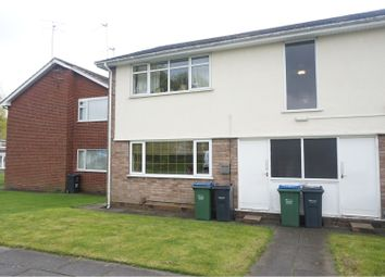 Thumbnail 1 bed flat to rent in Oak Close, Tipton