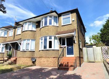 Thumbnail 3 bedroom end terrace house for sale in Eversley Avenue, Barnehurst, Kent