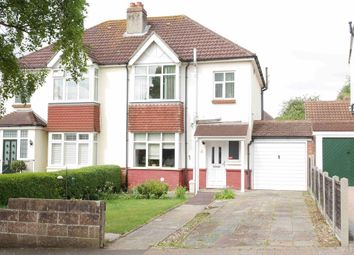 Thumbnail 3 bedroom semi-detached house for sale in Aberdare Avenue, Drayton, Portsmouth