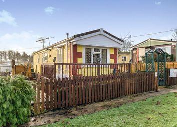 Thumbnail 2 bedroom mobile/park home for sale in Heath Farm Park, Barford St. Martin, Salisbury